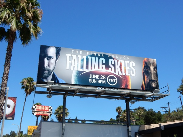 Falling Skies final season 5 billboard