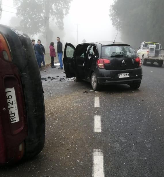 Accidente en la Ruta 215 : Habrían varios lesionados y una víctima fatal