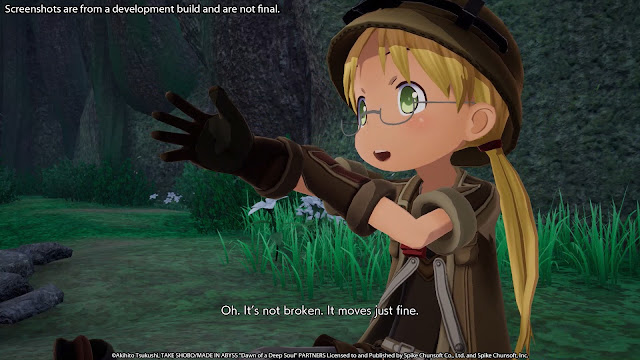 Made in Abyss: Binary Star Falling into Darkness é anunciado para Switch