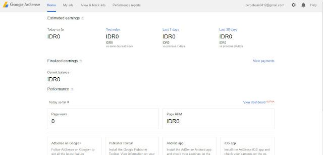 Teknik Membuat Akun Bug Google Adsense Indonesia Tahun 2016