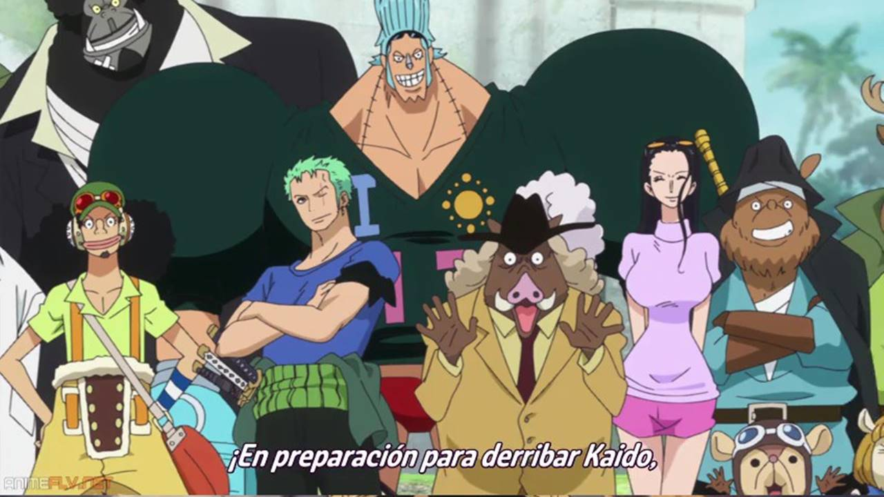 One Piece Anime cap 776 sub español
