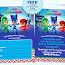 PJ Masks Invitation Printable - FREE!