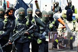 أنصار داعش يحتفلون بالهجوم الإرهابي في برشلونة ويتوعدا بمزيد من الجرائم