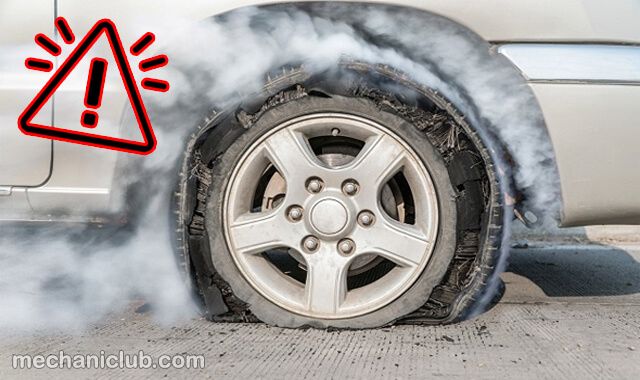 كيف تتصرف إذا إنفجر إطار السيارة في سرعة عالية !