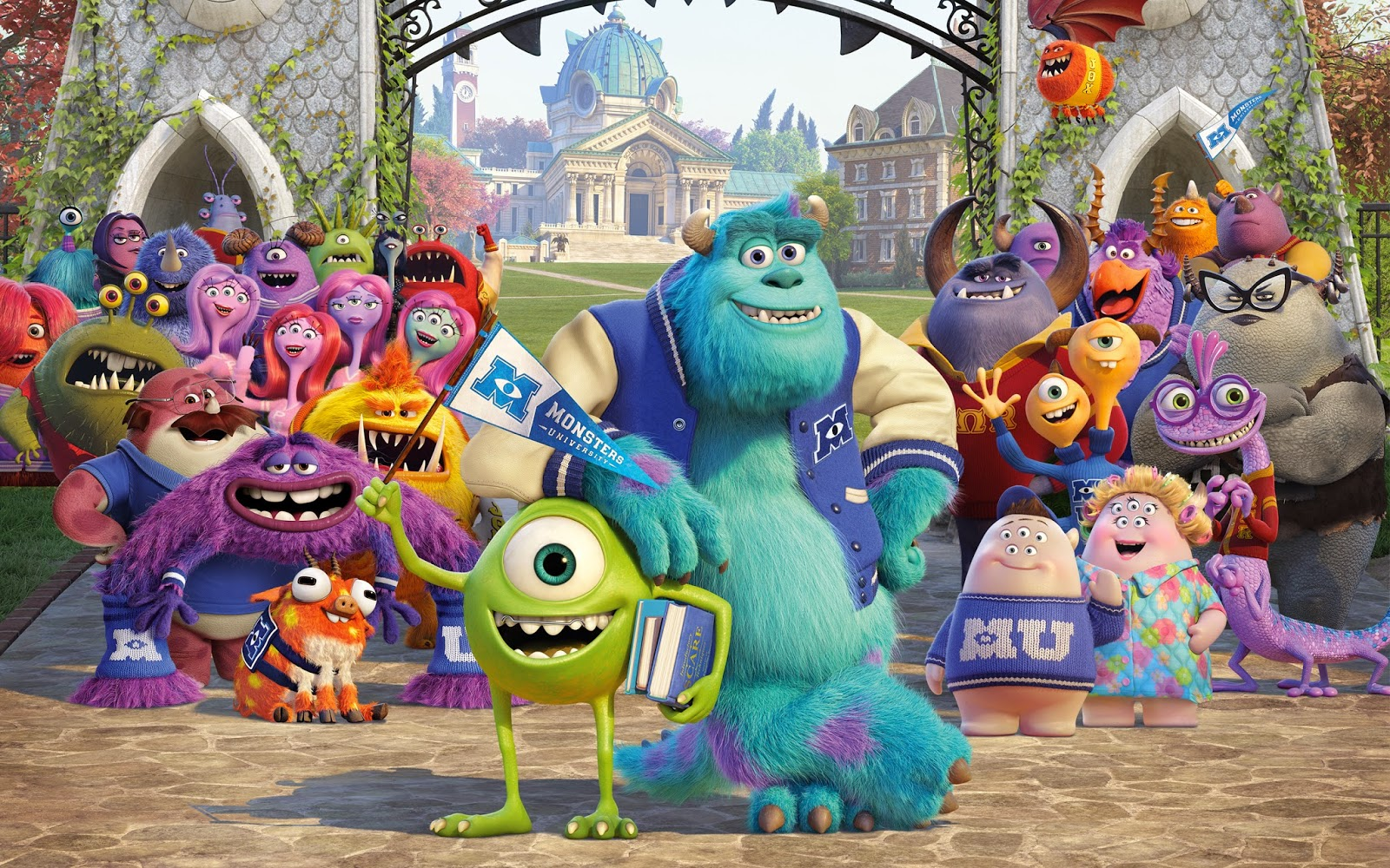 monsters university movie now available for download in hd | pixar post