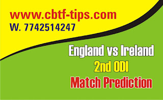 Cricfrog Who Will win today Ireland tour of England, 2020 Ire vs Eng 2nd International Ball to ball Cricket today match prediction 100% sure