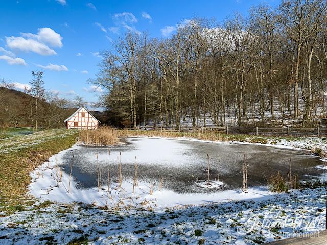 Freilichtmuseum Bad Sobernheim im Winter