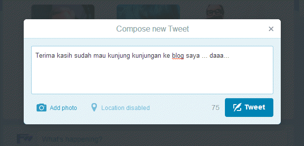 cara menggunakan twitter bagi pemula
