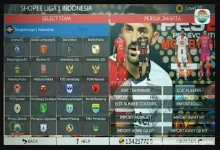 FTS Mod PES 2020 Full Liga Asia Gila Game