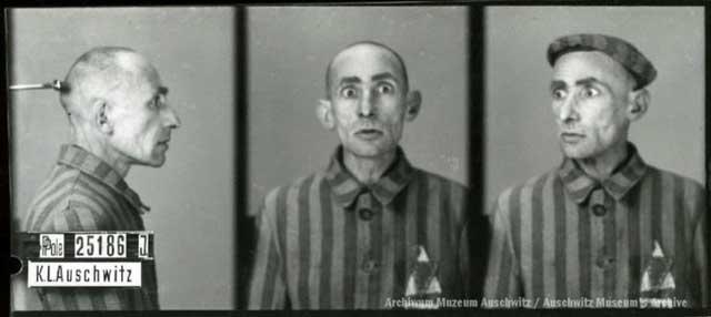 Auschwitz victim, 24 February 1942 worldwartwo.filminspector.com