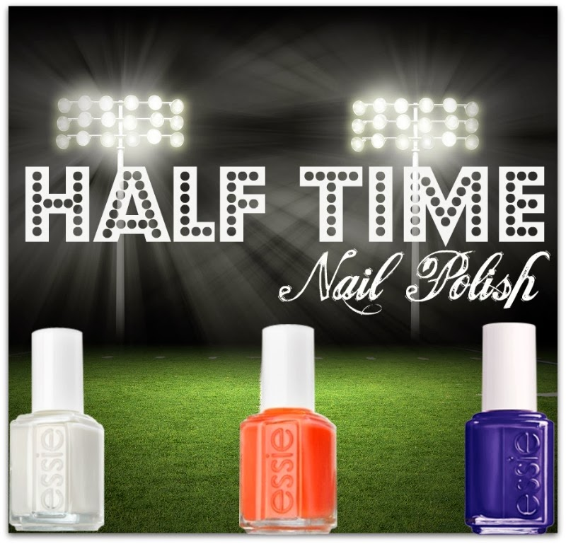 Superbowl, game day nail polish looks by Barbie's Beauty Bits