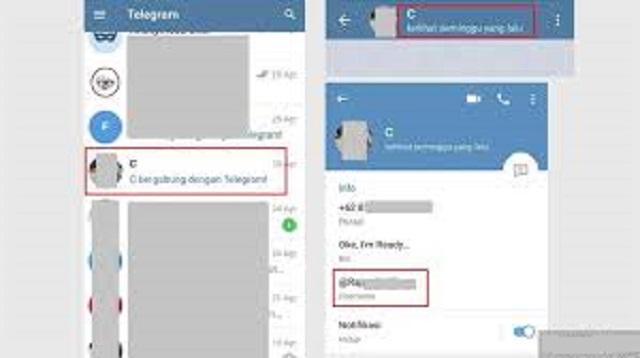 Cara Melihat ID Telegram Milik Sendiri dan Orang Lain