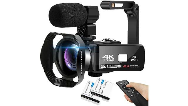 SEREE 4K HD 48MP Video Camera