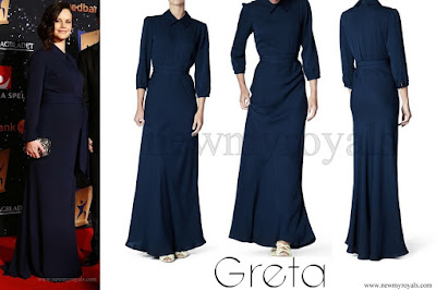 Princess Sofia Wore GRETA Martha Silk Gown