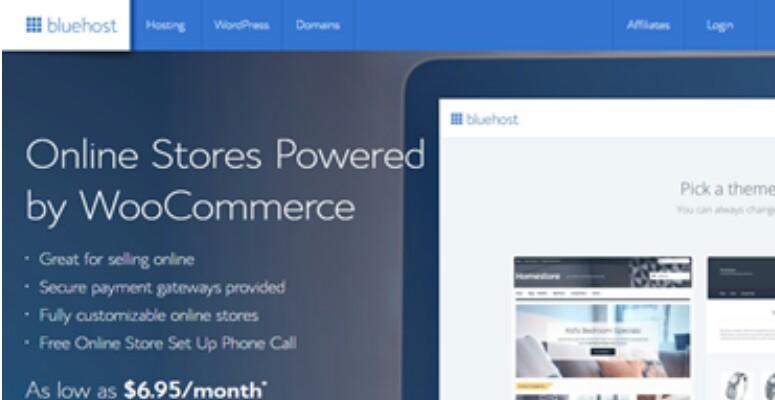 Bluehost WooCommerce