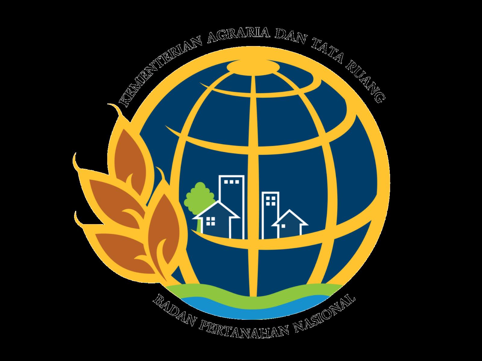 Logo Kemeterian ATR/BPN Format PNG