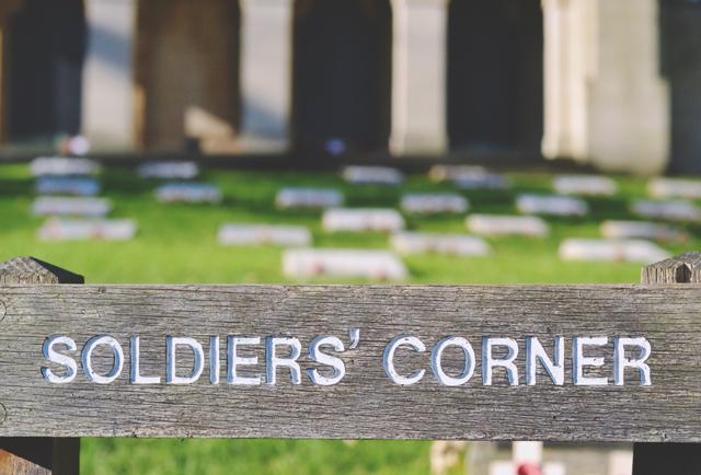 Soldiers' Corner Arnos Vale