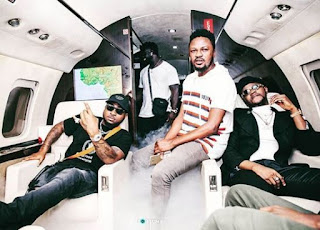 'I can't verify if Davido slapped me or his boys because I saw stars once the slap landed' - Kizz Daniel's manager Explains