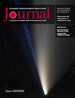 cover of the October 2020 RASC Journal