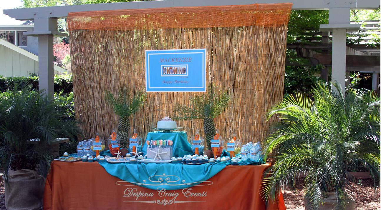 despina craig events hawaiian beach theme