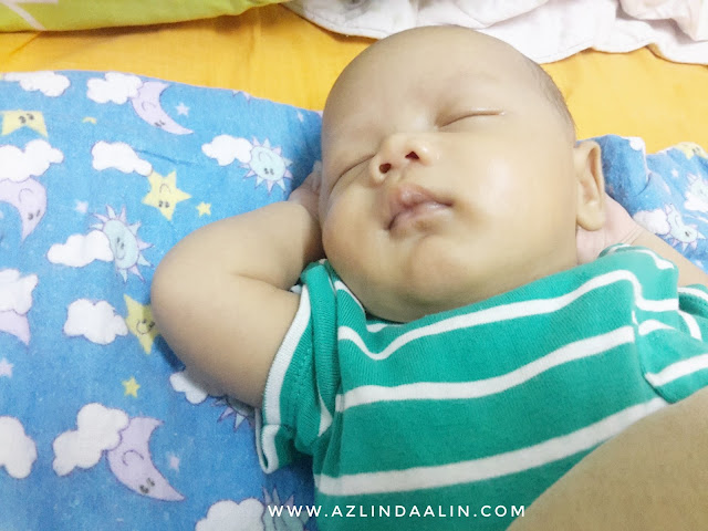 ALHAMDULILLAH BABY DAIM NAUFAL DISCHARGED PROLONGED JAUNDICE