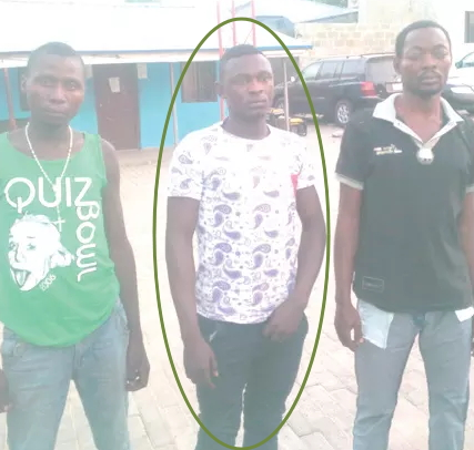nigerian soldier robbery abuja filling station