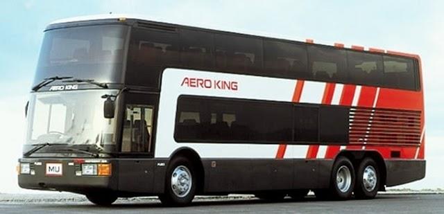Mitsubishi Fuso Aero King el double decker japonés por excelencia
