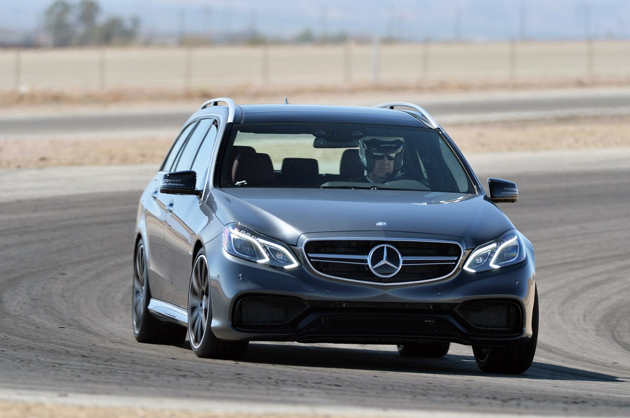 automotiveblogz 2014 mercedes benz e63 amg s 4matic wagon track test photos. Black Bedroom Furniture Sets. Home Design Ideas
