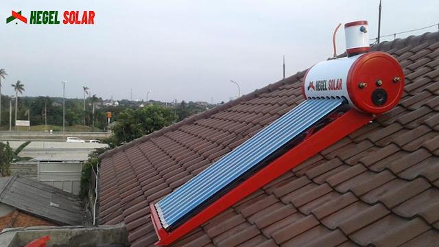 Hegel Solar water heater tenaga surya