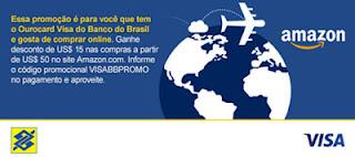 Participar promoção Ourocard Visa Amazon.com