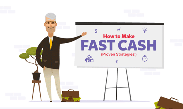 Ways to Make Fast Cash #infographic
