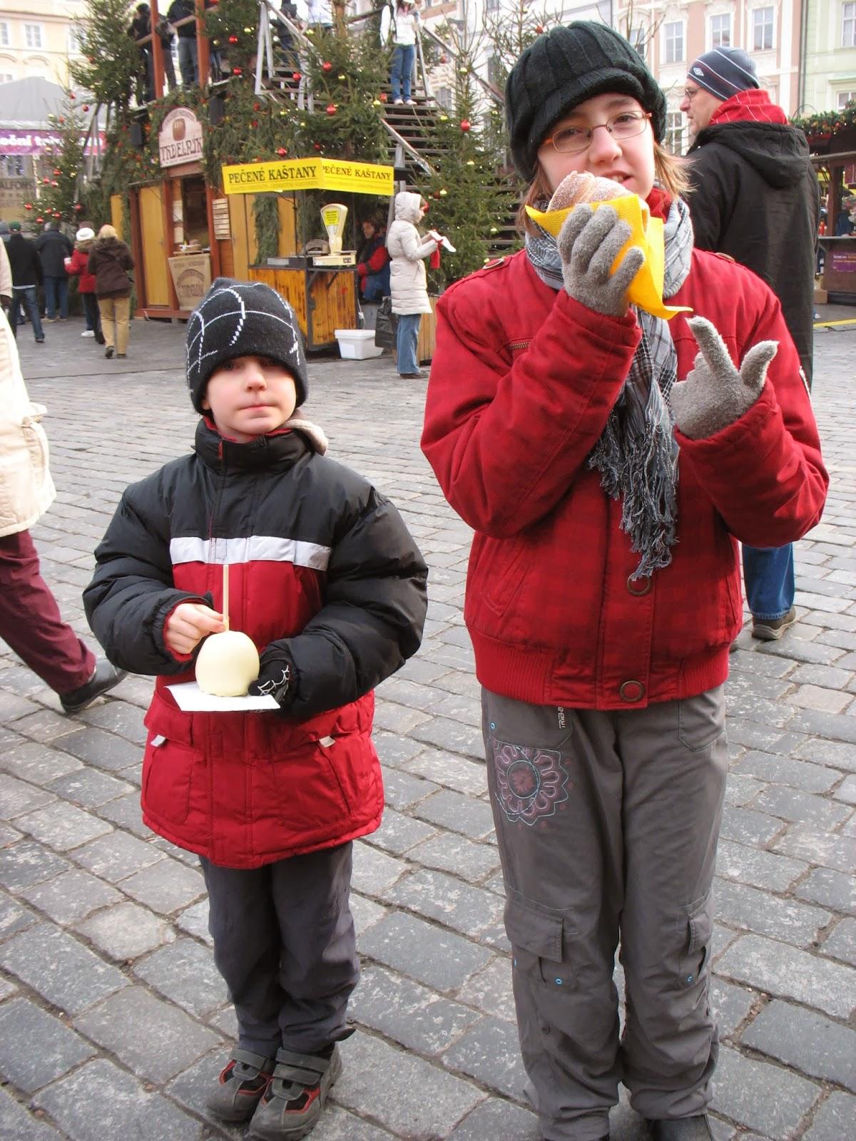 Vánoce v Praze na náměstí