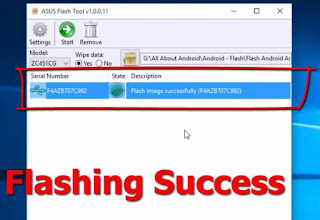 Cara Flashing ASUS Zenfone 4 T00I Bootloop