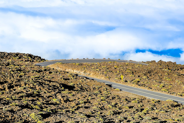 Haleakalā National Park road