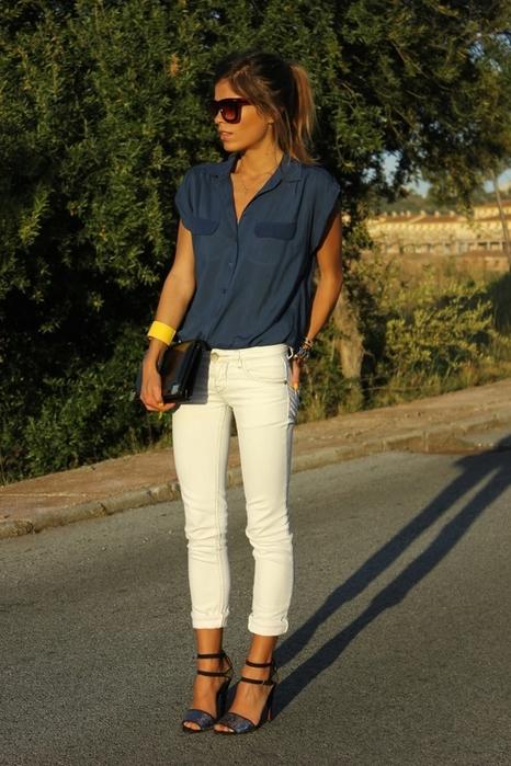 Como usar una linda blusa ~ Belleza y Peinados