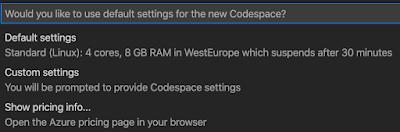 ", Blog de Bob Buzzard: Espaces de codes Visual Studio<span class=""wtr-time-wrap after-title""><span class=""wtr-time-number"">8</span> minutes de lecture</span>"