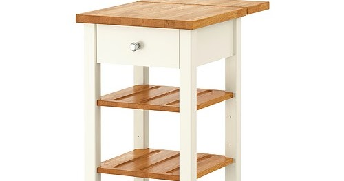 Portable Kitchen Island With Drop Leaf And Distressed Finnish