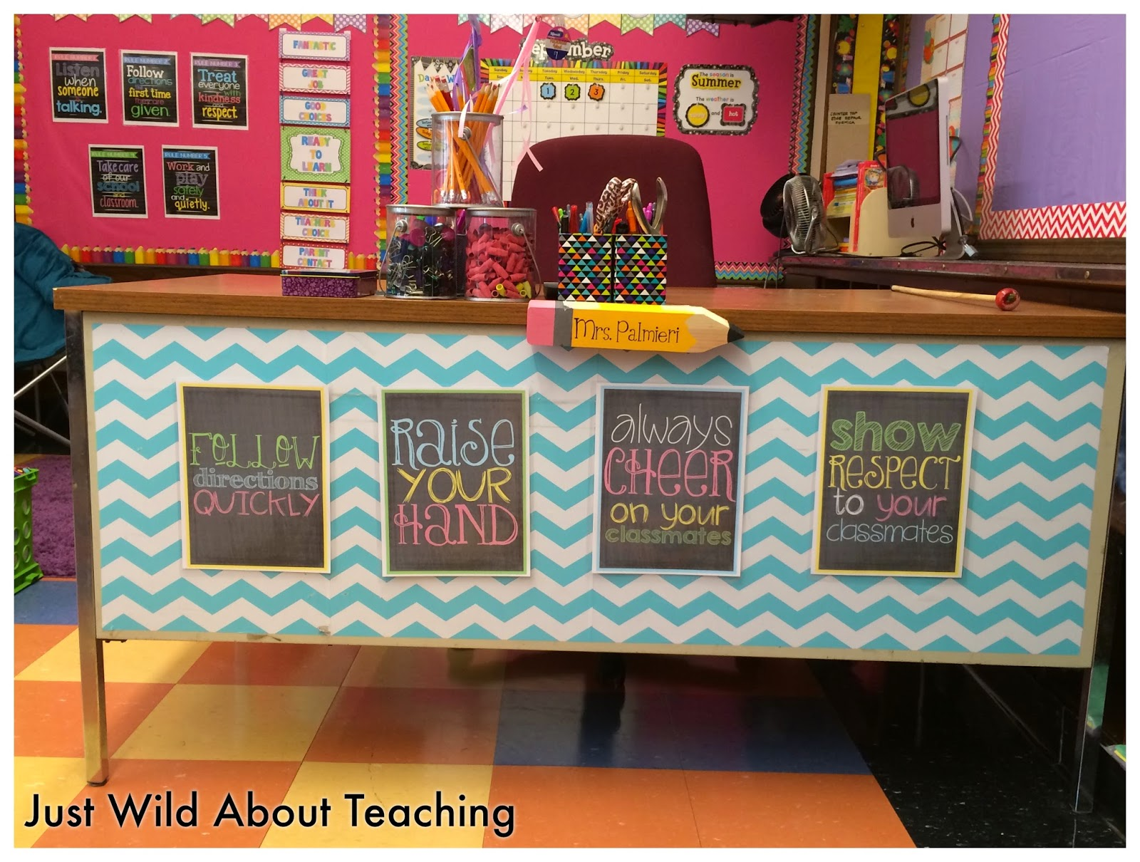 Classroom Ideas For Teachers ~ Just wild about teaching classroom reveal
