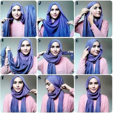 Aneka Tutorial Hijab Modern Pashmina Glitter Kreasi Terbaru Tutorial Hijab Terbaru
