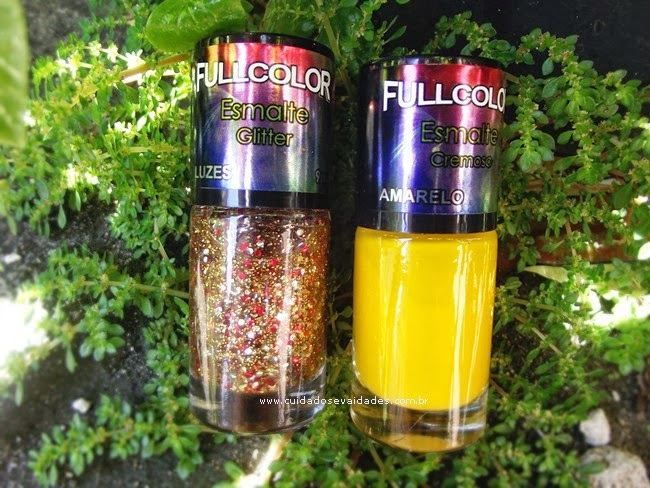 Esmalte amarelo FullColors