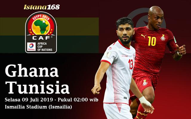 Prediksi Ghana vs Tunisia 09 Juli 2019