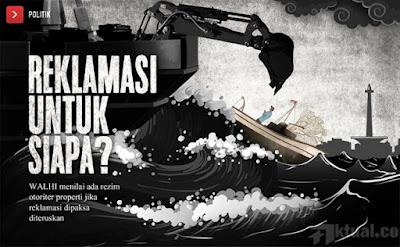 Setelah Pulau K, PTUN Juga Perintahkan Ahok Cabut Izin Pelaksanaan Reklamasi Pulau F