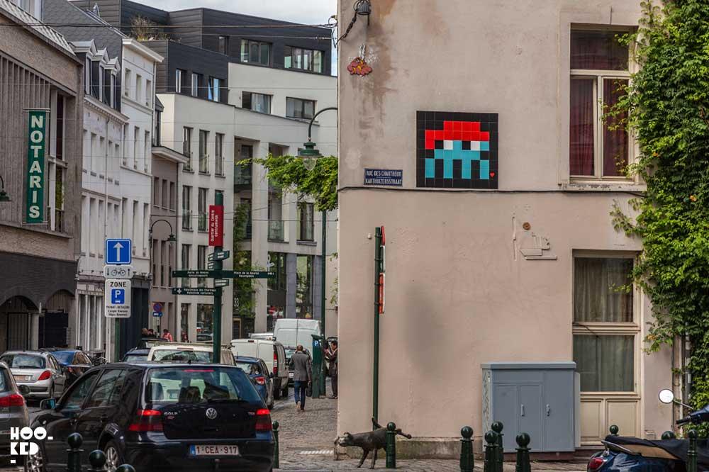 Brussels Street Art - Invader Mosaic BXL_02