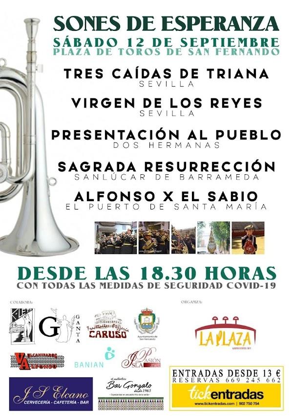 San Fernando convoca en septiembre el certamen 'Sones de Esperanza'