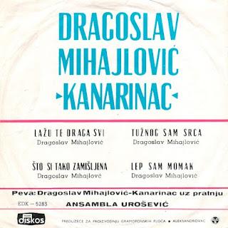Dragoslav Mihajlović - Kanarinac - Oj Ovcare Beli Jagancare