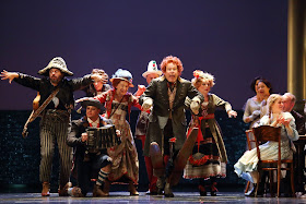 Britten: Death in Venice - Gerald Finley and the players - Royal Opera ((c) ROH 2019 photographed by Catherine Ashmore)