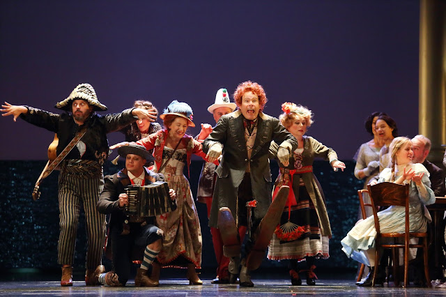 Britten: Death in Venice - Gerald Finley and the players - Royal Opera ((c) ROH 2019 photographed by Catherine Ashmore)7