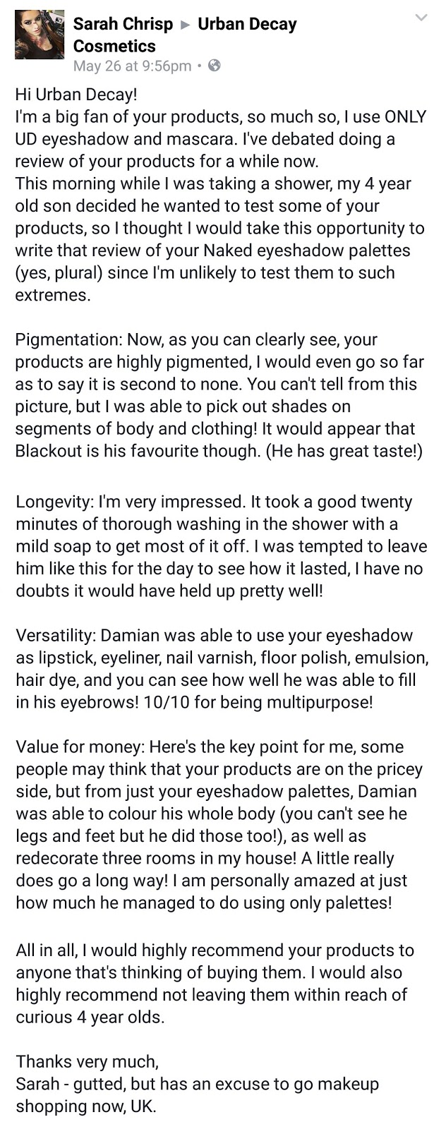 real and honest make-up review