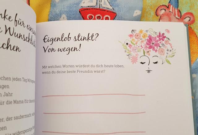 WOW MOM: Das Mutmacher-Buch für Mamas im ersten Jahr mit Kind. Alle Gefühle dürfen in dieses Buch auch hinein geschrieben werden.