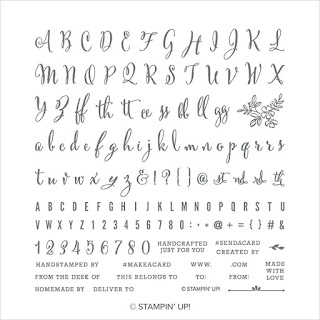 Stampin' Up! Make A Difference Stamp Set